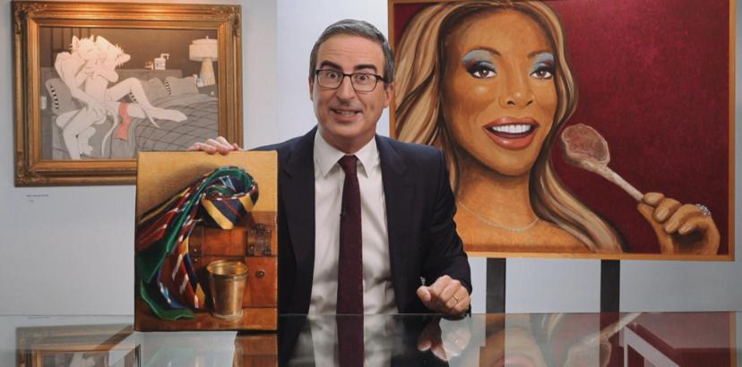 Comedian John Oliver Awards Baltimore Art Museum With $10k